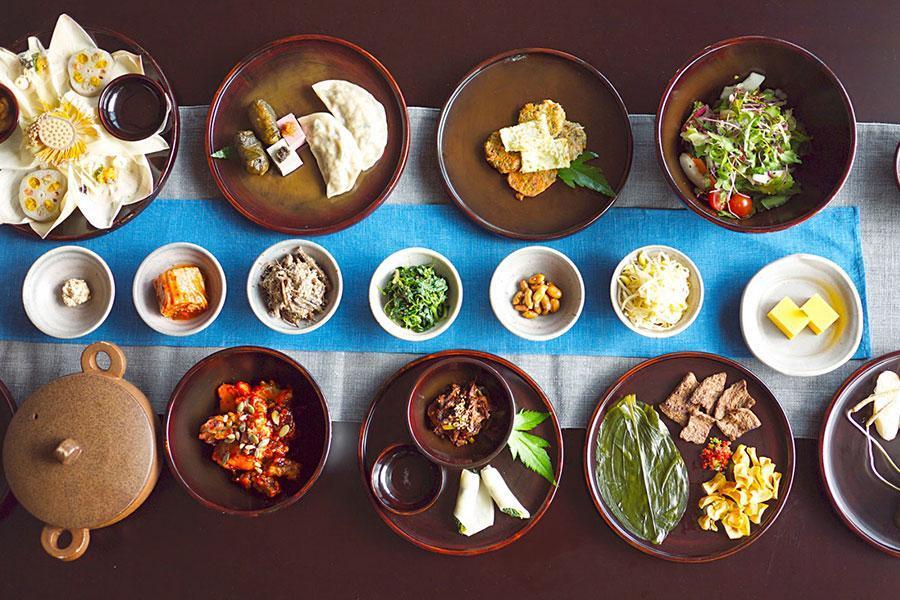 Những món ăn chay kiểu Hàn mà bạn không nên bỏ qua khi đặt tiệc chay